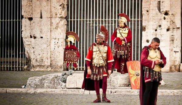 Impersonificatore-di-centurione-romano